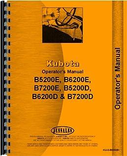 kubota tractor operators manual ku o b5200e kubota manuals rh amazon com kubota tractor owners manual download l3010 kubota tractor owners manual online