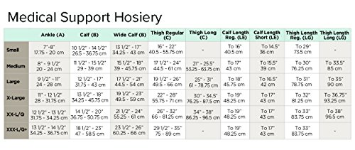 Ames-Walker-AW-Style-222-Anti-Embolism-18-mmHg-Compression-Closed-Toe-Knee-High-Stockings-Beige-Large-Non-ambulatory-patients-Reduce-possibility-of-pulmonary-embolism