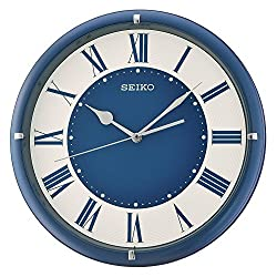 Seiko Plastic Wall Clock (Model: QXA669LLH)