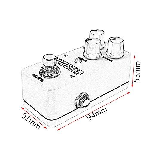 Tmalltide Aluminum Alloy FCP2 Mini Compressor Pedal Guitar Musical Instruments Effects