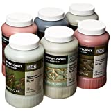 Amaco 39219X Potters Choice Glazes, 1 pint Capacity, Assorted Colors