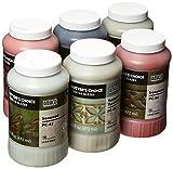 AMACO Potters Choice Lead-Free Glaze Set - B, 1 pt, Assorted Colors, Set of 6