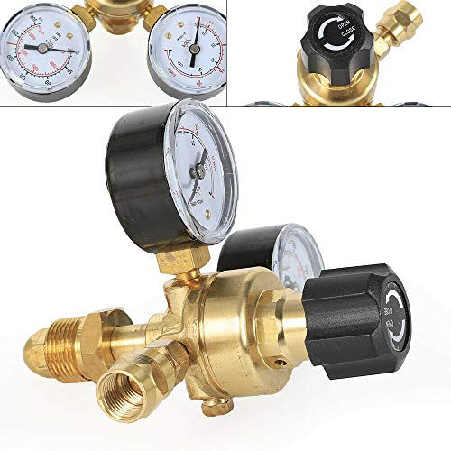 Argon Pressure Reducing Valve, Argon Gas Flow Meter Welding Regulator Gauge Valve Us Commercial Welder Safe Pressure Control from LOYALHEARTDY19