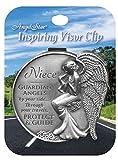 Angelstar 15688 Niece Guardian Angel Visor Clip Accent, 2-1/2-Inch