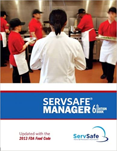 servsafe manager, revised with servsafe online exam voucher (6th ...