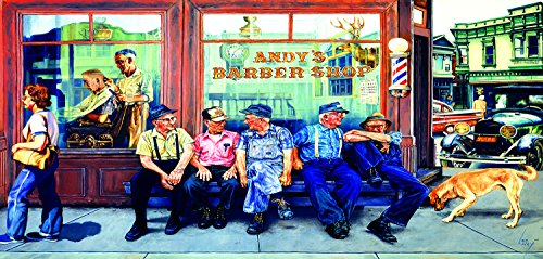 Andy's Barbershop Friends (1000) 1000 Piece Jigsaw Puzzle by SunsOut