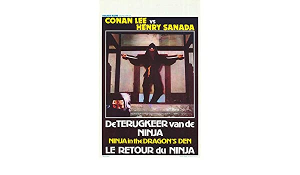 Amazon.com: Ninja in the Dragons Den (Belgian)  POSTER (11 ...