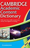 Academic Content Dictionary, Not Available (NA), 0521871433