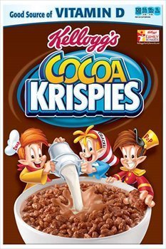 (Kellogg's Cocoa Krispies Cereal, 15.5oz Box (Pack of 2))