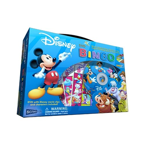 Disney DVD Bingo by Screenlife