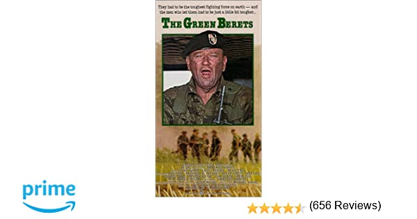 ac9d719ba20d2 Amazon.com  The Green Berets  VHS   John Wayne