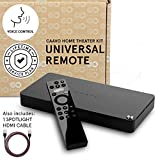 Caavo Universal Remote & Smart Home Hub / HDMI switch w Voice with LIFETIME SERVICE PLAN (No Additional Fees) For Roku, Apple TV, Streaming Sticks, Sonos,Netflix,Hulu,YouTube, Cable/Sat TV, Soundbars