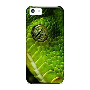 Durable Protector Case Cover With Snake Hot Design For Iphone 5c
