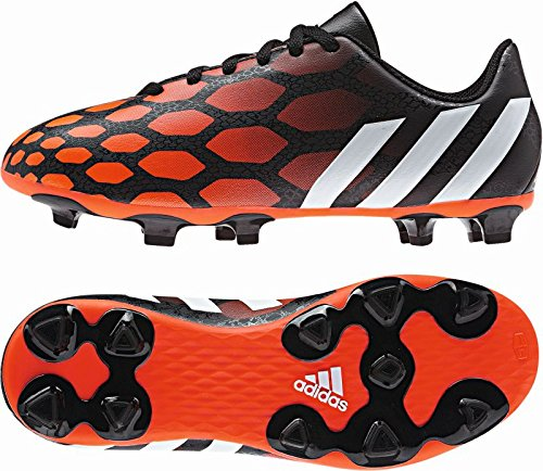 Fracaso granero Pasteles  adidas Performance Predito Instinct FG J Firm Ground Soccer Shoe, Core  Black/Running White/Infrared, 5.5 M US Big Kid- Buy Online in Aruba at  aruba.desertcart.com. ProductId : 3718098.