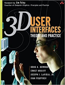 Book By Doug A. Bowman 3D User Interfaces: Theory and Practice (paperback) (1st Frist Edition)