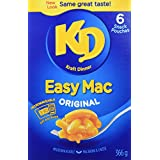 KRAFT Dinner Easy Mac Macaroni and Cheese, 366g