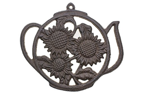 """Cast Iron Trivet 