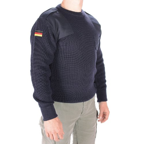 Mil-Tec BW suéter según TL, talla S, color azul azul