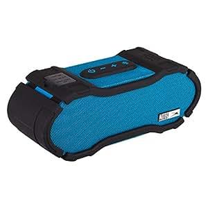 Altec Lansing IMW678-BLU Omni Jacket NFC Bluetooth Speaker Waterproof Wireless Bluetooth Speaker, Hands-Free Extended Battery Outdoor Speaker, Ultra-Portable 50ft Range, Blue