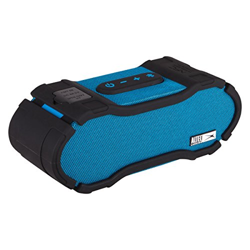 Altec Lansing IMW678-BLU Omni Jacket NFC Waterproof Bluetooth Speaker, Blue