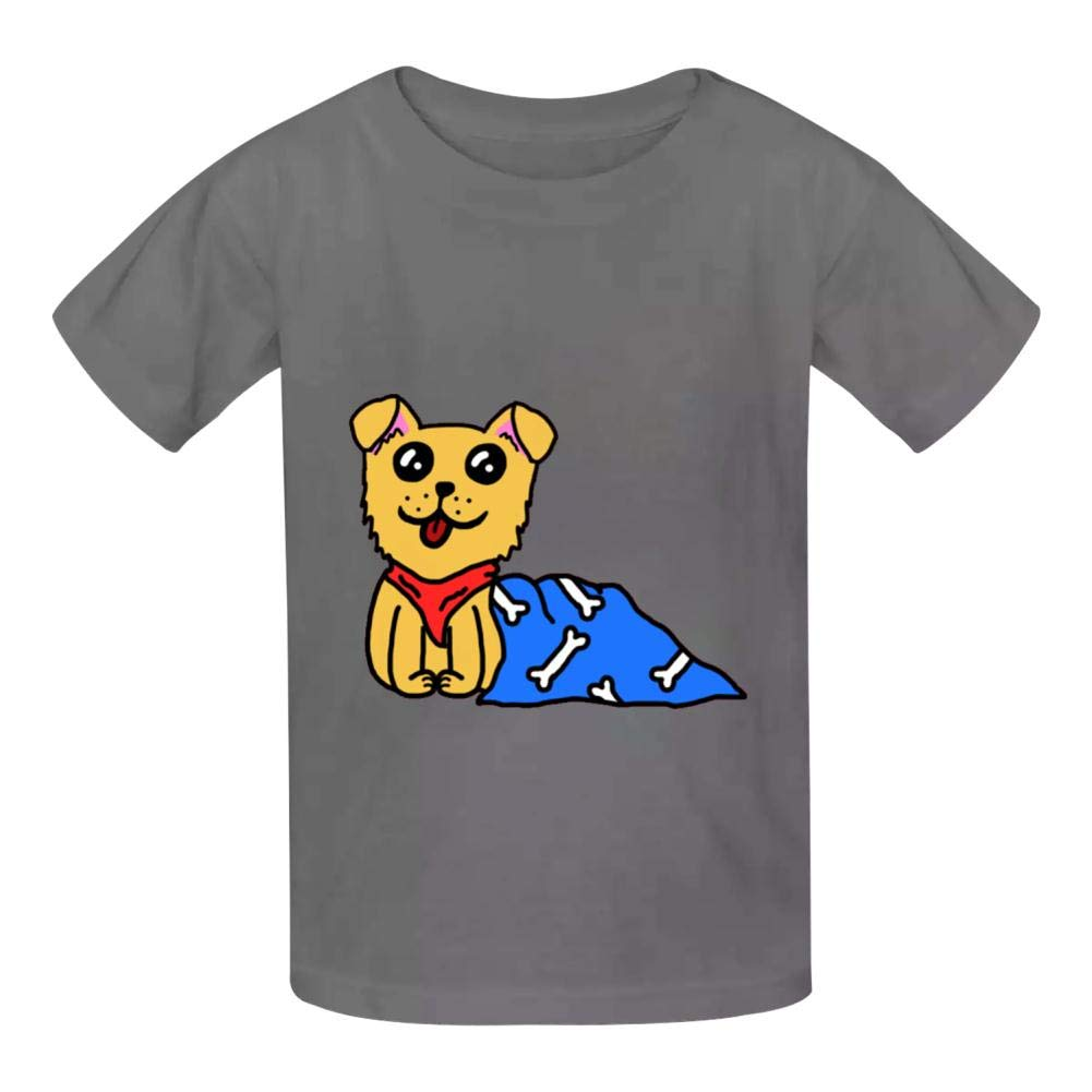 YYIL Doopy Doggo Childrens Comfortable and Lovely T Shirt Suitable for Both Boys and Girls