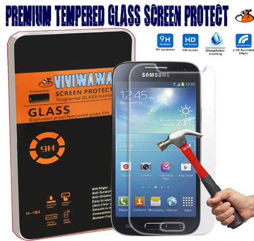 Viviwawa 2.5d Round Edge 0.3mm Ultra-thin Tempered Glass (Samsung Galaxy S4 Mini)
