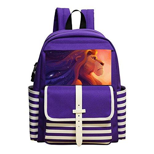 Mufasa The Lion King Student Backpack School Bag Super Bookbag Break