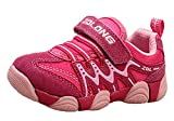 iDuoDuo Kids Casual Mesh Shoes Outdoor Athletic Trail Running Sports Sneakers Pink 2 9.5 M US Toddler