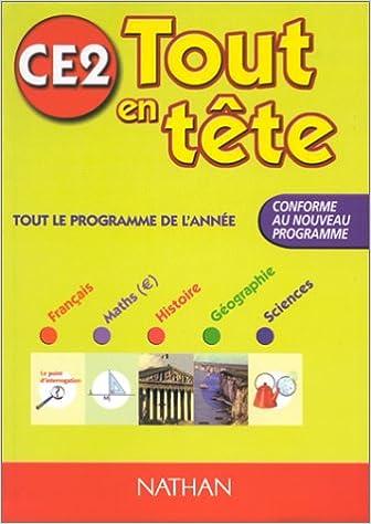 Livres gratuits Tout en tête CE2 epub pdf