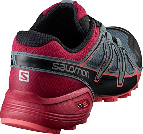 Gris Femme Trail Salomon de 2 Chaussures Vario Rouge Speedcross wnvBZq0F4