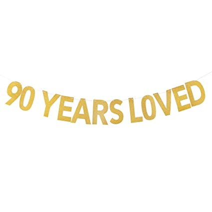 PALASASA 90 Years Loved Banner