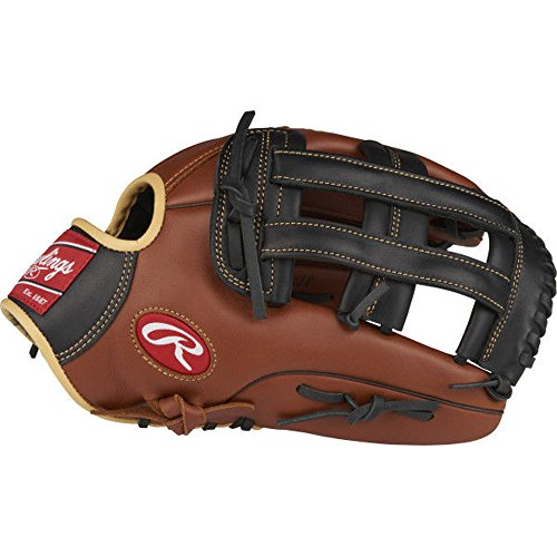 Rawlings Sandlot Series Leather Pro H Web Baseball Glove, 12-3/4