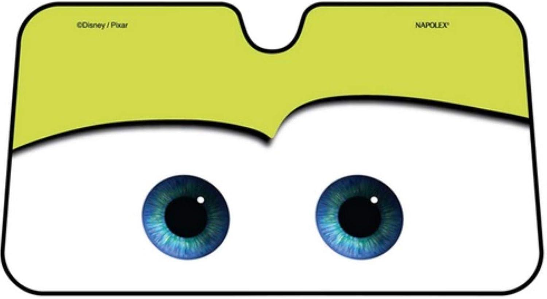 Hellgr/ün VFUM Frontscheibenabdeckung Eisfolie Cartoon Window Foils Eye Pixar Beheizte Windschutzscheibe Sonnenschutz Autofenster Windschutzscheibe Sonnenschutz Auto Sonnenblende Autoplanen