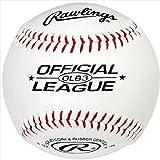 Rawlings Baseball Ball OLB3 mit MLB Logo