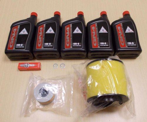 (New 2001-2004 Honda TRX 500 TRX500 Rubicon ATV OE Complete Service Tune-Up Kit)