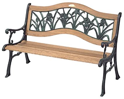 Delicieux Image Unavailable. Image Not Available For. Color: Berkeley Forge 1800/88AO  Floral Iris Garden Bench