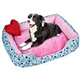 Smdoxi_pet Dog Bed Pet Bed Pet Kennel Nest Pet Cave Cat Bed House Soft Pet Dog Cat Bed Puppy Cushion House Pet Soft Warm Kennel Dog Mat Blanket