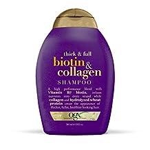 Organix Biotin and Collagen Shampoo, 13-Ounce