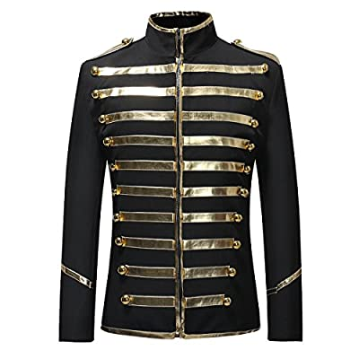 Men's Luxury Slim Fit Stylish Party Coats Blazer Vintage Suit Jacket