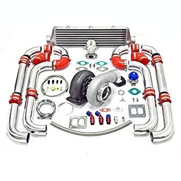Universal Turbocharged Upgrade GT45 T4 9pc Turbo Kit