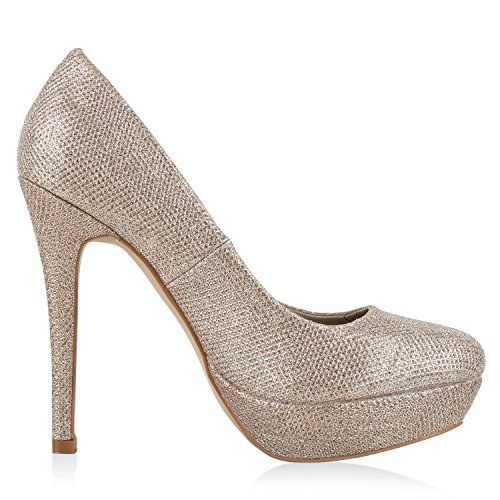 Gold fashion Total Cerrado Mujer napoli qZ1Htt