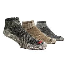 Super-Wool Hiker GX Low-cut 1/4 Hiking Socks (3 Pairs)