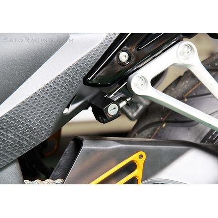 13-14 HONDA CBR500R: Sato Racing Helmet Lock (BLACK)