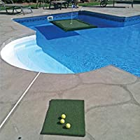 Floating Golf Green for Pools & Ponds, Chipping Mat, Multiple Sizes