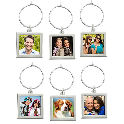 Wine Labels Make Your Own (Make Your Own Photo Wine Charm Tags)