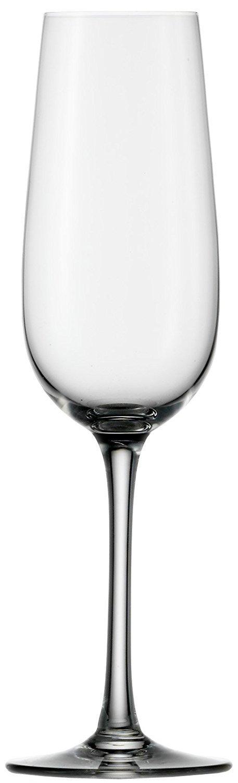 Stölzle Lausitz–Calici da vino espumoso. Weinland 200ml, Set di 6, adatto per la lavastoviglie Calici di Champagne