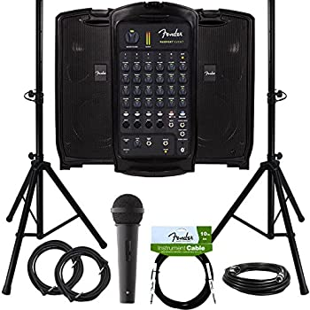 fender passport event portable pa system bundle with microphone compact speaker. Black Bedroom Furniture Sets. Home Design Ideas