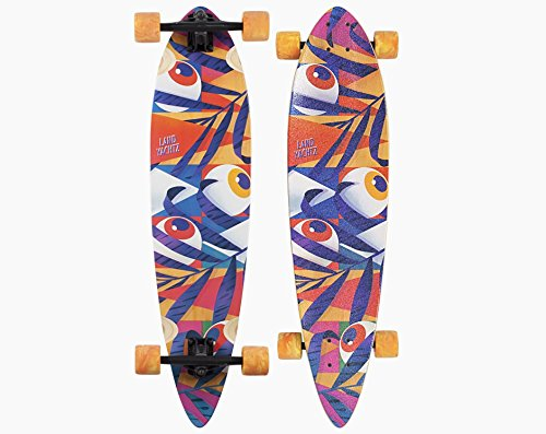 Landyachtz Bamboo Chief Eyes Complete Longboard - 2018