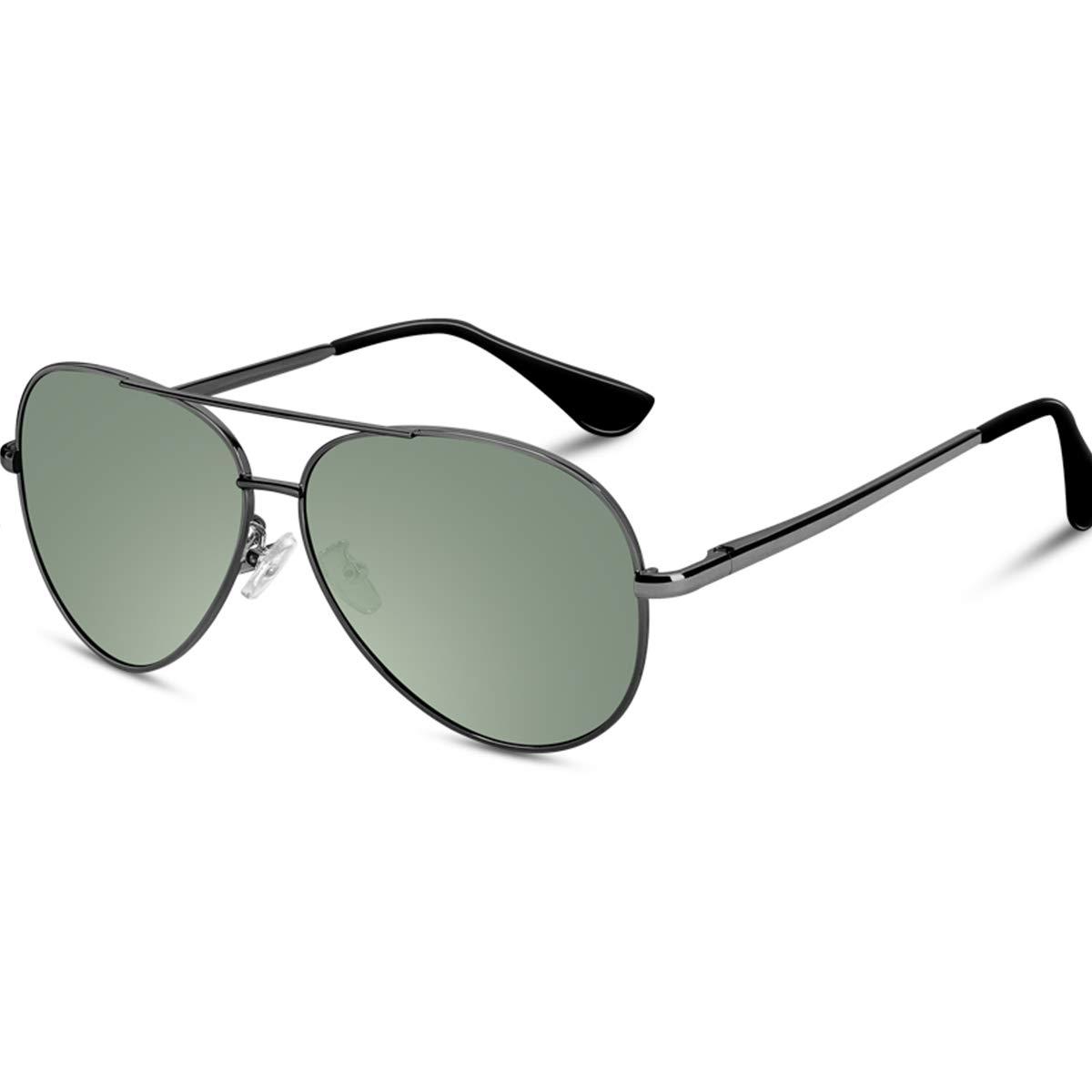 VVA Gafas de sol Hombre Polarizadas Aviador Hombres Aviador Gafas de sol Polarizadas Hombre Unisex Protección