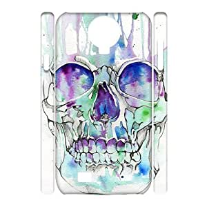 skull 3D-Printed ZLB816144 Unique Design 3D Cover Case for SamSung Galaxy S4 I9500
